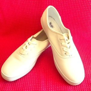 Keds White Leather Sneaker